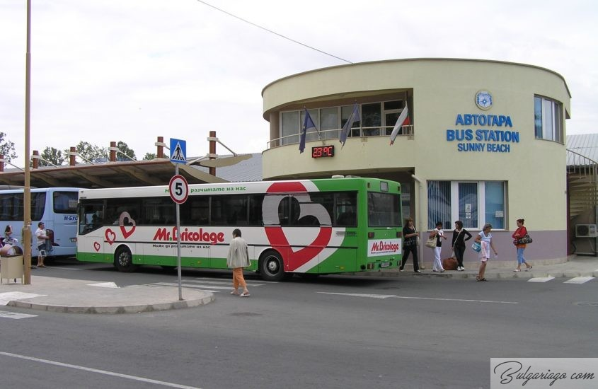 Photo of Bus schedule from Varna for 2016-2017